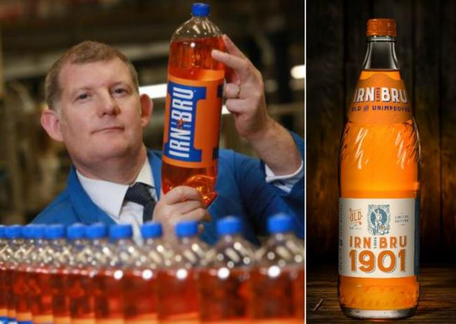 Original Irn Bru to relaunch in stores across Scotland