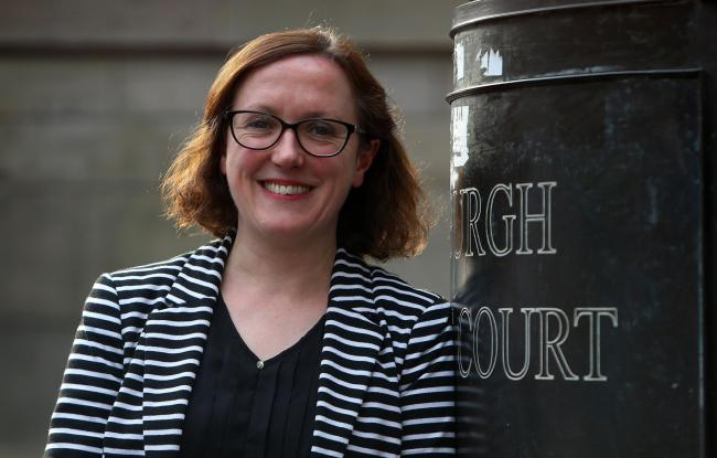 Edinburgh Bar Association president Julia McPartlin says addressing issues with legal aid will dominate the organisation's work during her term.