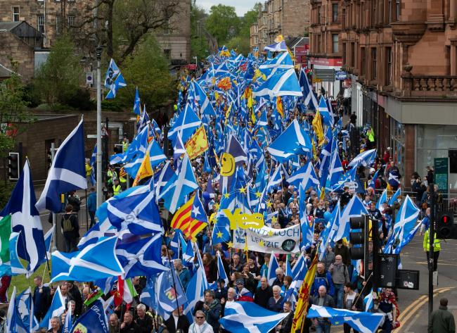 A referendum 'is a right that cannot be denied to Scotland'. Picture: Colin Mearns