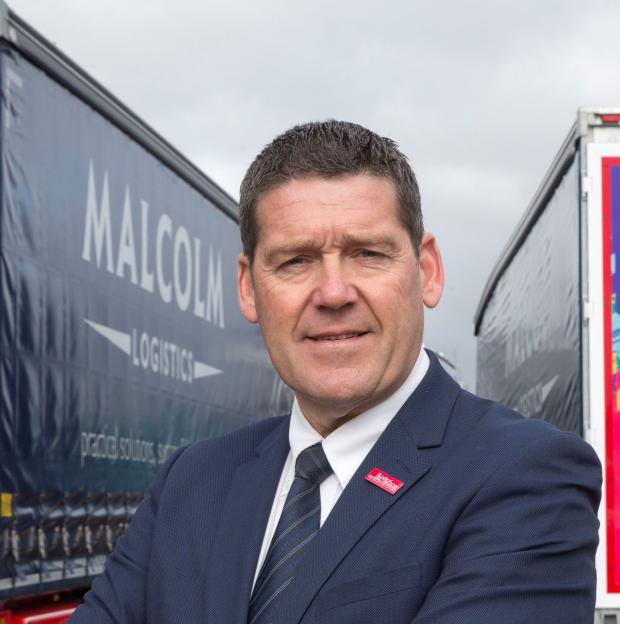 HeraldScotland: CEO Andrew Malcolm aims to greatly reduce the firm's carbon emissions