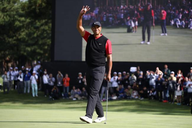 Tiger Woods won the Zozo Championship in Japan