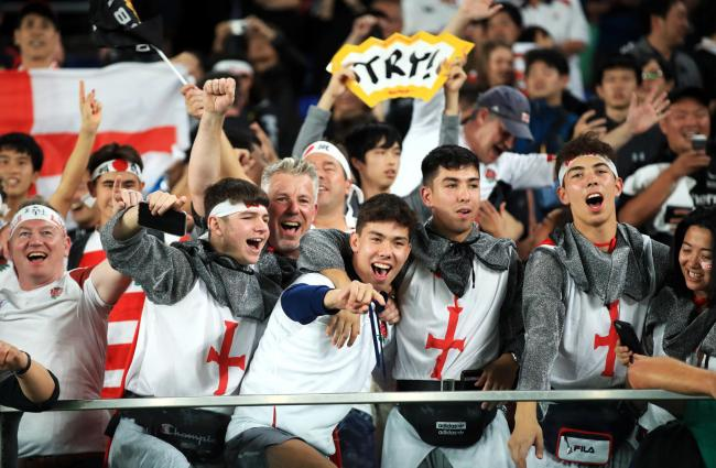 England rugby fans have adopted the slave anthem Swing Low, Sweet Chariot.