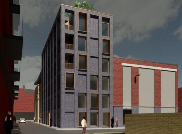 The proposed building would include 18 serviced apartments