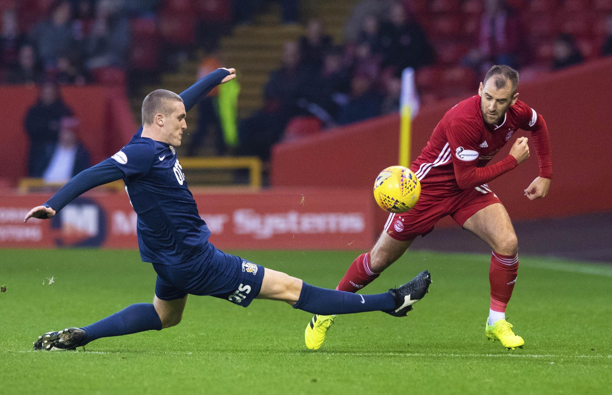 Kilmarnock's Iain Wilson: No excuses for Aberdeen loss