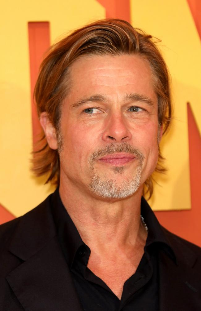Brad Pitt attending the Once Upon A Time... In Hollywood UK premiere in Leicester Square, London. PRESS ASSOCIATION Photo. Picture date: Tuesday July 30, 2019. See PA story SHOWBIZ Hollywood. Photo credit should read: Isabel Infantes/PA Wire.