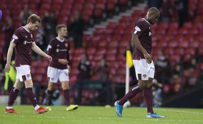 Hearts opted not to start Uche Ikpeazu in the Betfred Cup semi-final against Rangers and their attack suffered as a result
