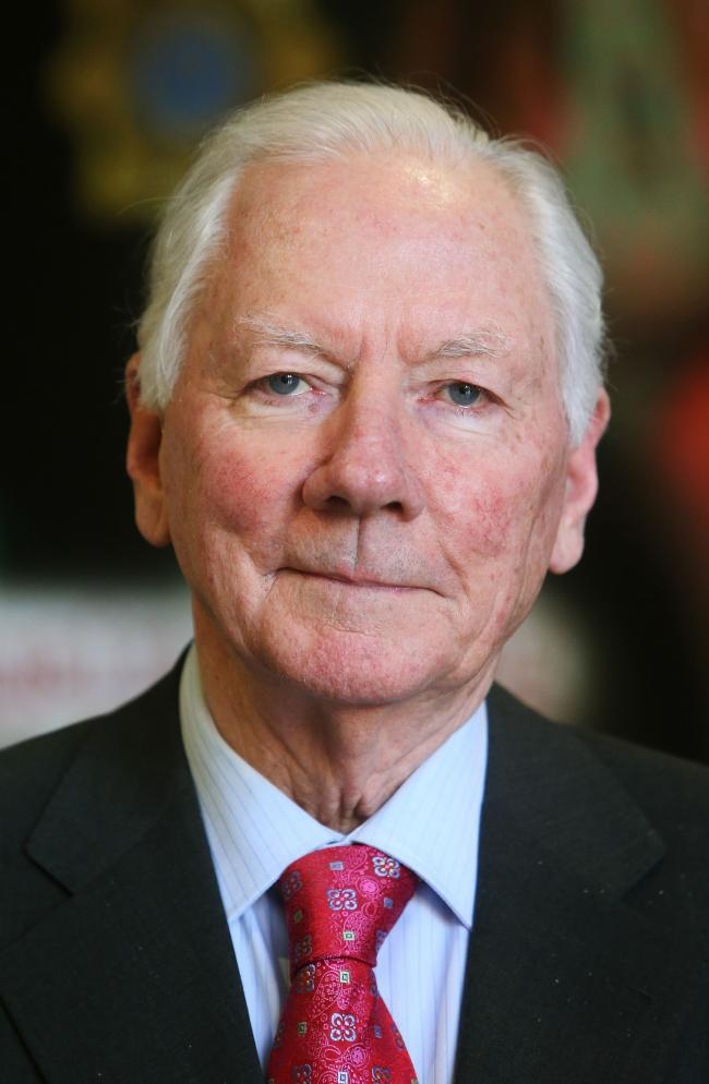 File photo dated 20/03/14 of Irish broadcaster Gay Byrne has died at the age of 85 after a long illness, RTE said. PA Photo. Issue date: Monday November 4, 2019. The RTE broadcaster and former Late Late Show host had been undergoing treatment for cancer.