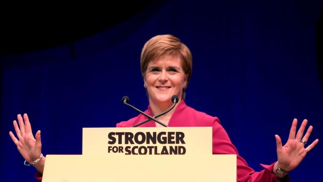 'It is my intention to have an independence referendum next year' - Nicola Sturgeon