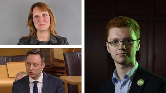 HeraldScotland: Tory pair Michelle Ballantyne and Liam Kerr are vying with Green MSP Ross Greer in the one to watch category