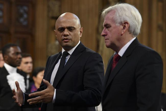 Spend, spend, spend: Javid and McDonnell pledge to 'turn on spending taps' to win votes