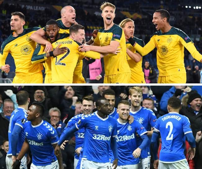 Celtic celebrate a famous win over Lazio while Rangers recorded likewise against Porto