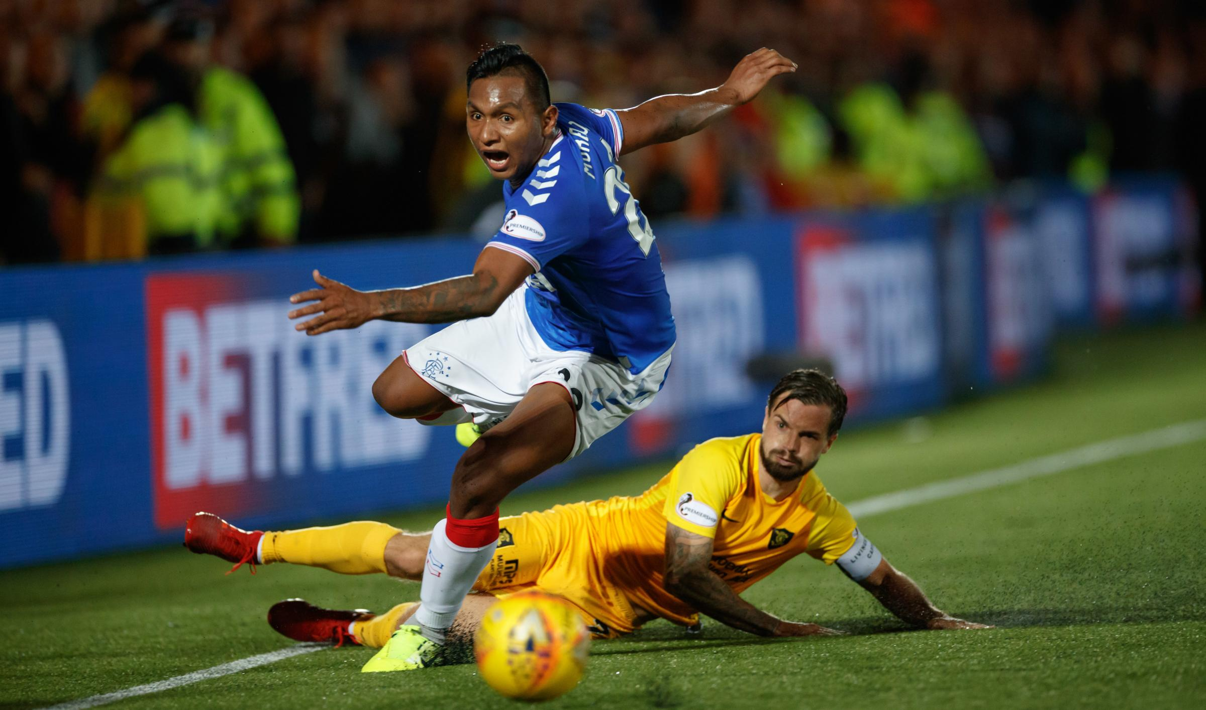 Livingston vs Rangers: Is it on TV? What time is kick-off? Team news   Gers in action after Porto win
