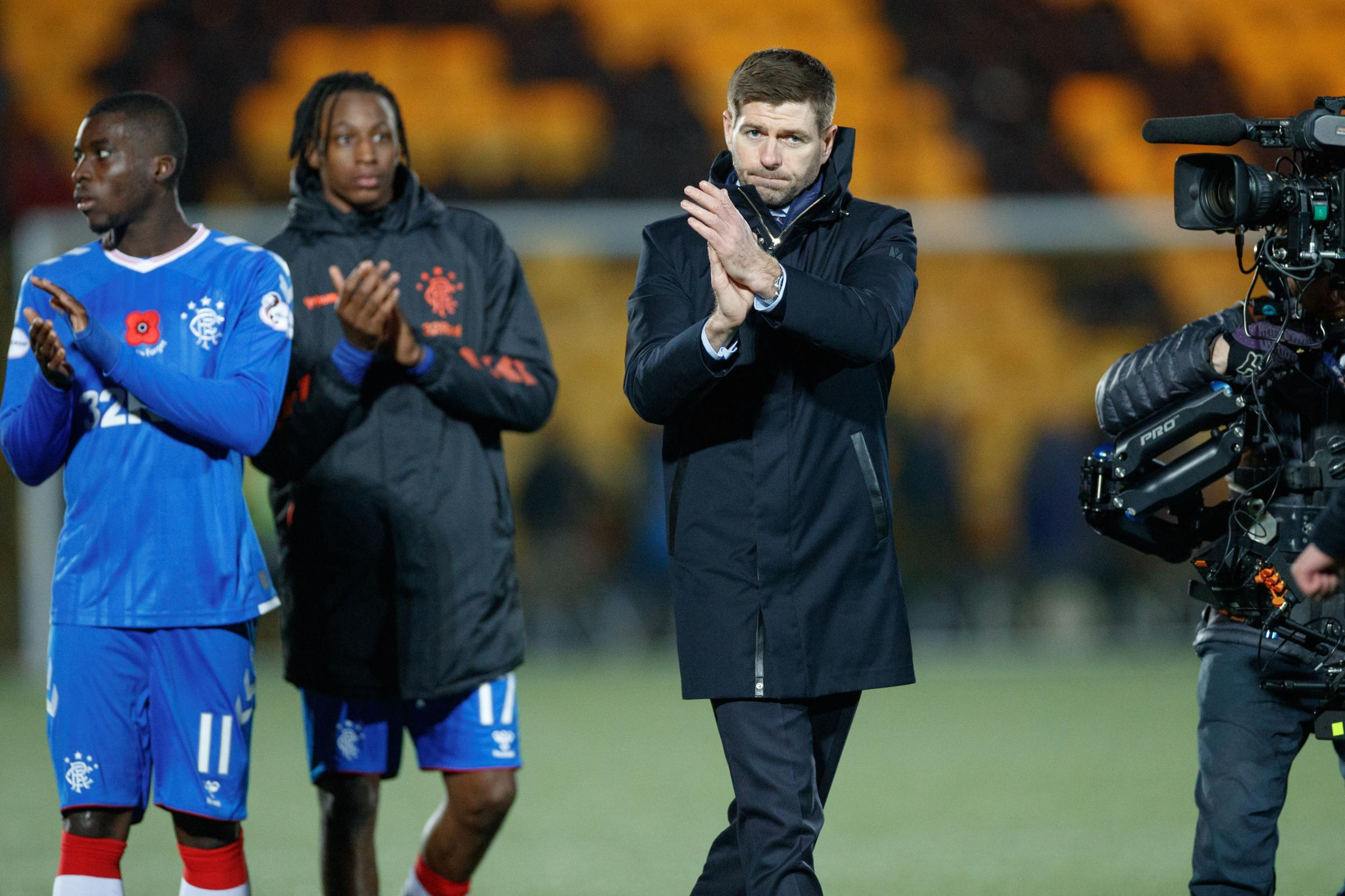 Steven Gerrard delighted with 'outstanding' Rangers display in crucial win over Livingston