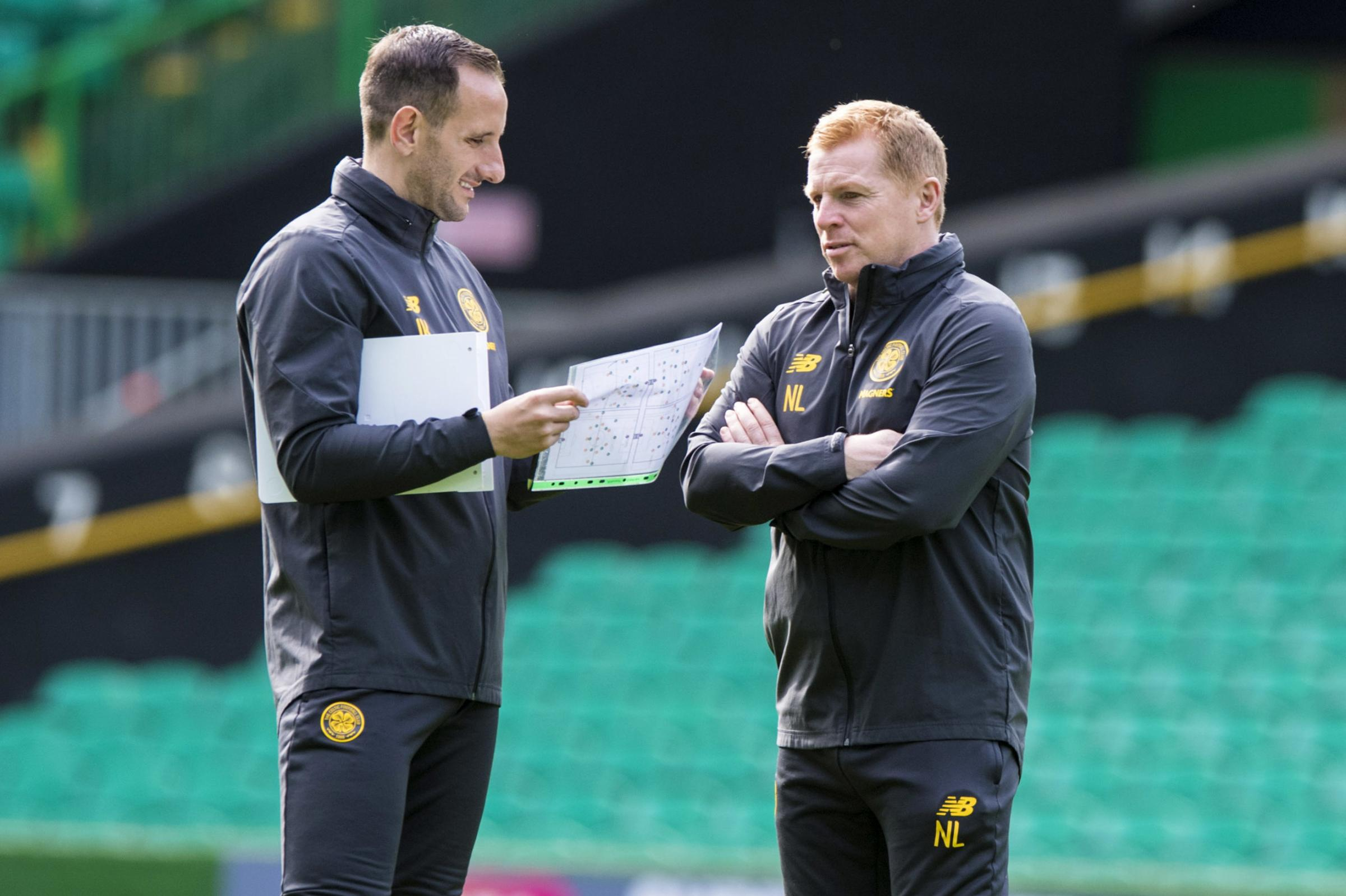 Neil Lennon says John Kennedy will be going nowhere amid reports of Hibs interest in Celtic's number two