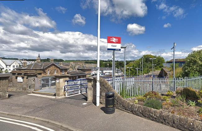 Staff at Cupar station may have to close the public toilets because they could not get paper towels.