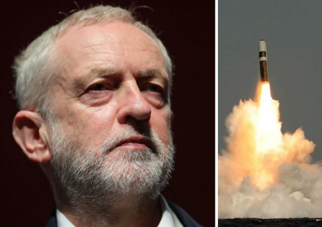 Jeremy Corbyn under pressure over stance on Trident nuclear deterrent