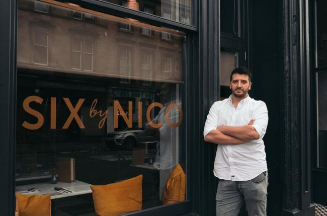 Six by Nico has re-launched its dine at home service