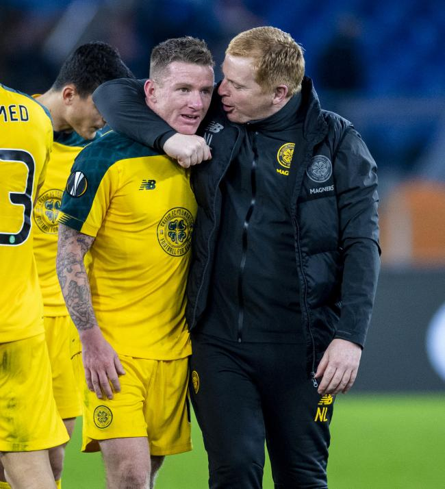 Johnny Hayes and Neil Lennon