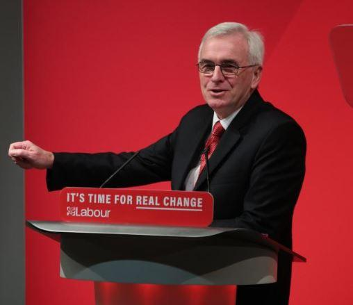 McDonnell: 'NHS is in crisis under Tories. Labour is party of NHS...creators of that jewel in our crown'