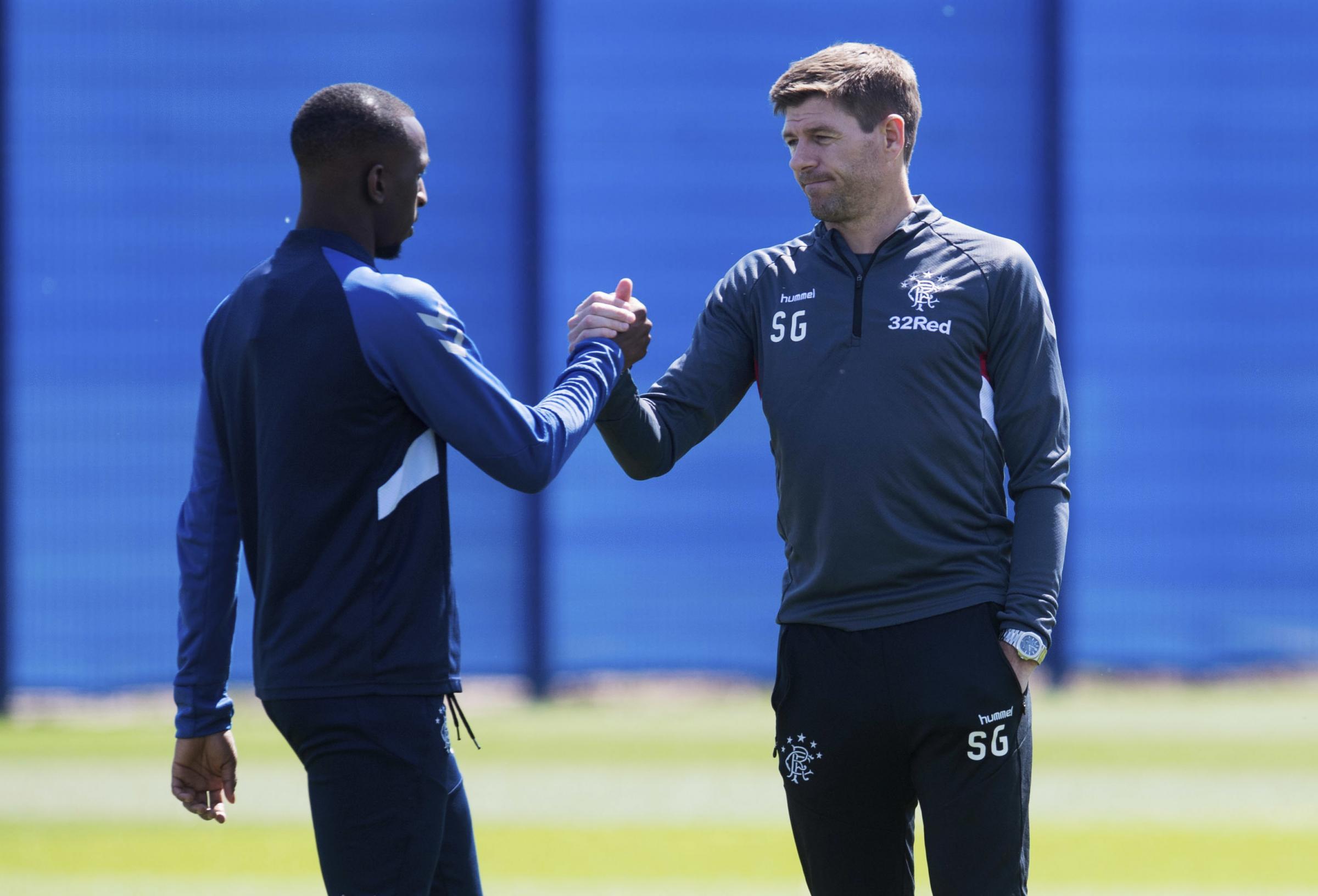 Rangers midfielder Glen Kamara an £8million January target for English sides