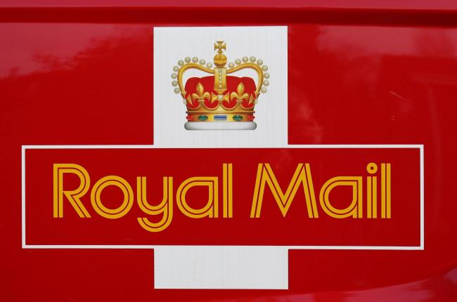 Shares in Royal Mail rose today