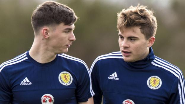 James Forrest says that Kieran Tierney is committed to playing for Scotland.