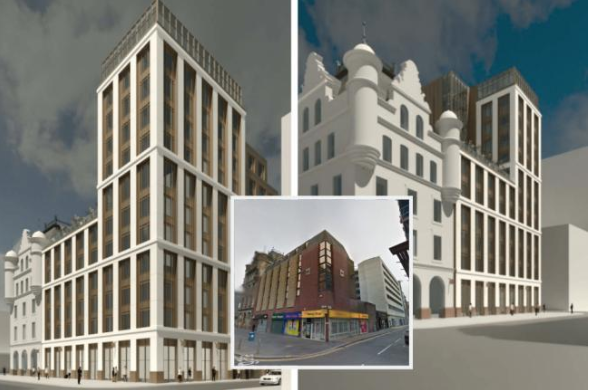 Former Glasgow Royal Bank of Scotland site could be new hotel and shops - HeraldScotland