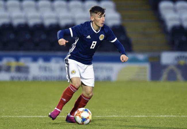 Billy Gilmour has made a handful of first-team appearances for Chelsea this season PHOTO: PA