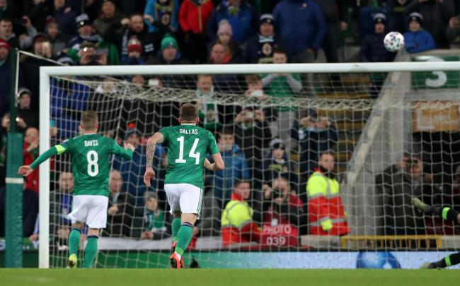 Rangers hero Steven Davis balloons penalty over crossbar for Northern Ireland in crunch clash vs Holland