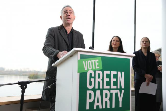 Greens' Bartley: party's 'new green deal' is most ambitious anywhere in the world
