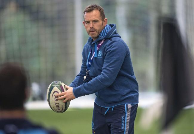 Scotland assistant Danny Wilson will succeed Dave Rennie at Glasgow Warriors PHOTO: SNS