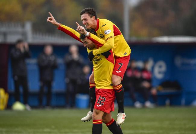 Partick Thistle have been drawn against Raith Rovers in the semi-finals of the Tunnock's Caramel Wafer cup PHOTO: SNS