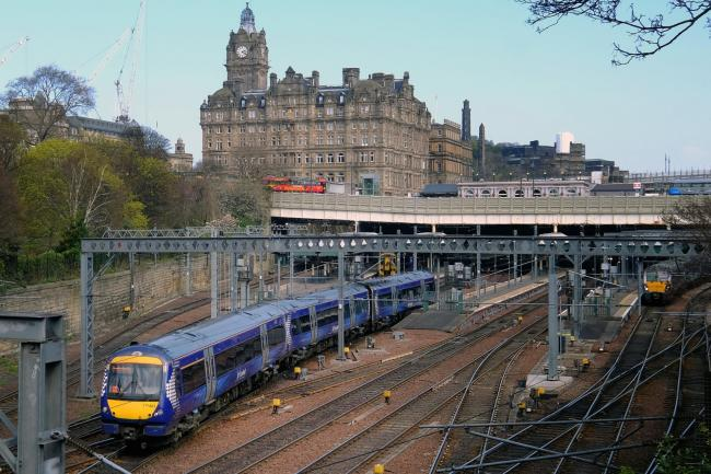 Edinburgh - Glasgow rail link to resume on Sunday after Haymarket upgrade works