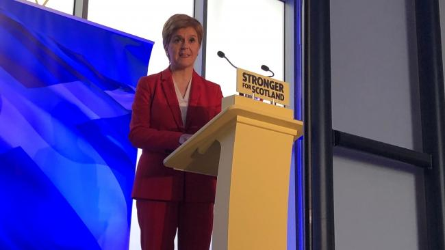 Sturgeon downgrades Brexit from 'material change' to 'illustration' to justify Indyref2