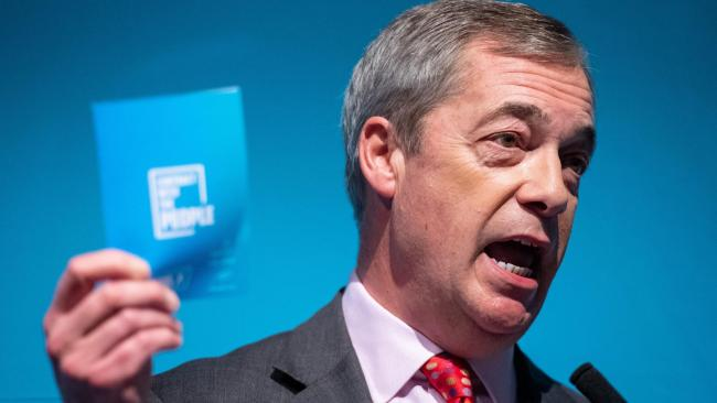 Farage calls for immigration to be capped at around 50,000 people a year