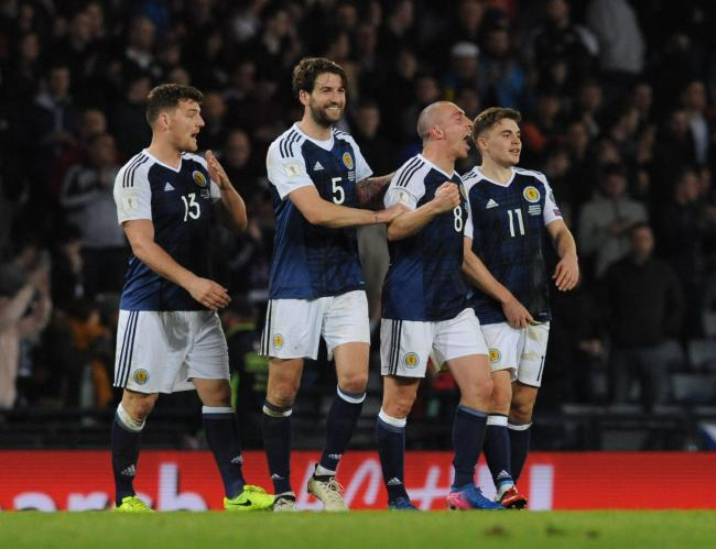 Celtic captain Scott Brown last played for Scotland against England in 2017 PHOTO: COLORSPORT