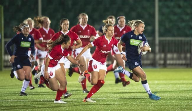 Scotland's Chloe Rollie in action during the defeat against Wales at Scotstoun last week