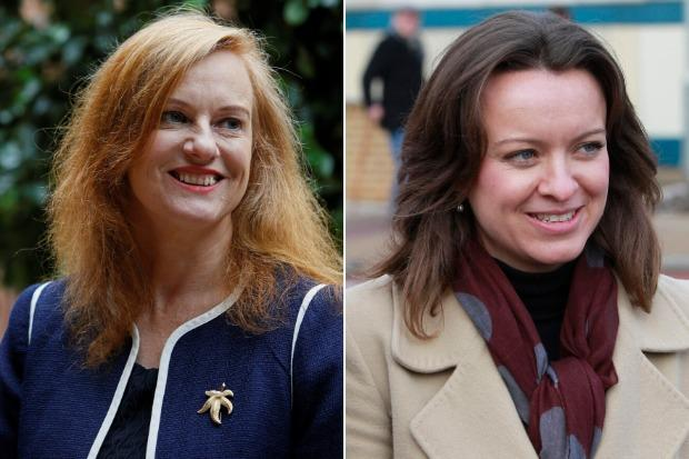 Joan McAlpine, left, and Jenny Marra