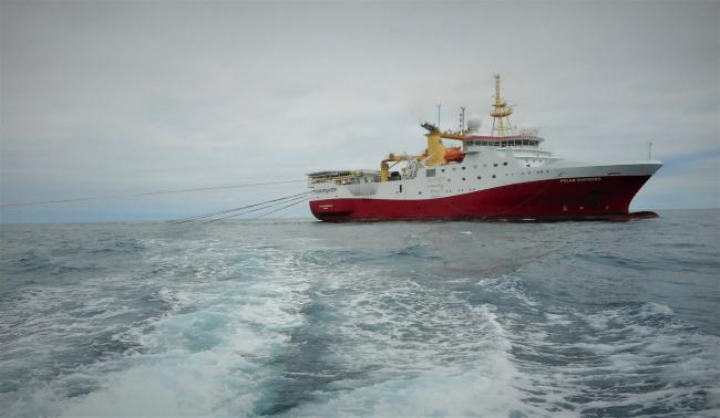 Cluff Natural Resources recently completed seismic survey work in the North Sea