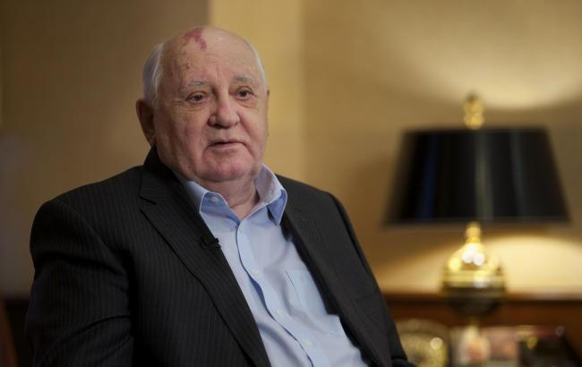 "Mikhail Gorbachev has stated that ""nuclear weapons must be destroyed"""