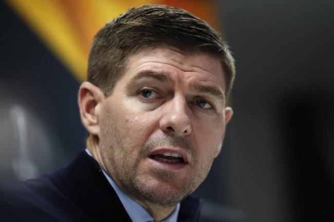 Steven Gerrard drowning out the white noise as he bids to help Rangers end their Scottish title blues
