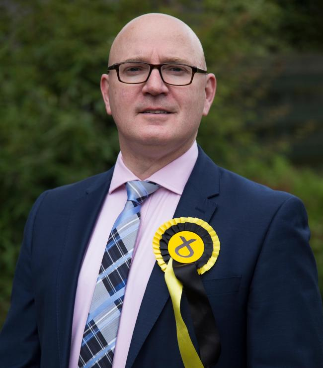 Dunfermline councillor Neale Hanvey is the new Fife SNP Group leader..