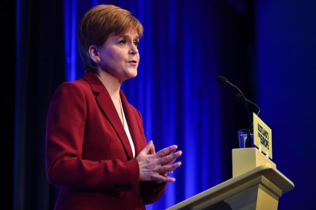 Nicola Sturgeon refuses to rule out legal bid if Johnson blocks indyref2