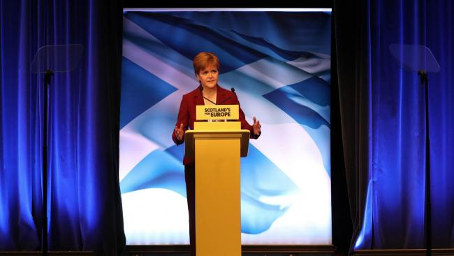 BBC had 'institutional issue' during referendum, Sturgeon claims