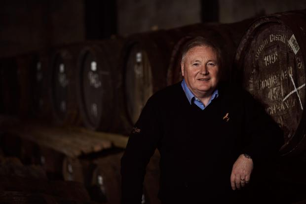 HeraldScotland: James MacTaggart, Director of Operations and Production at Isle of Arran Distillers
