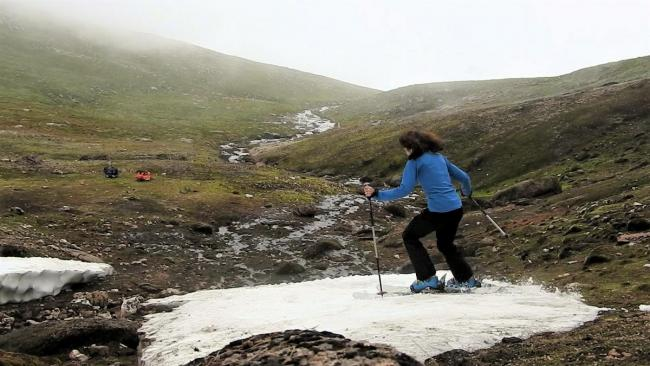 Global heating threat to Cairngorm snow fields