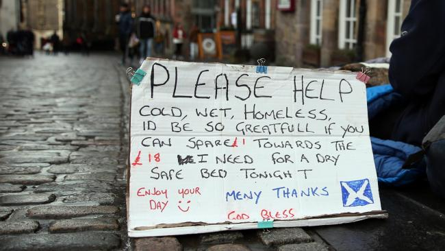 Forty-five homeless people died in Glasgow last year, official figures show