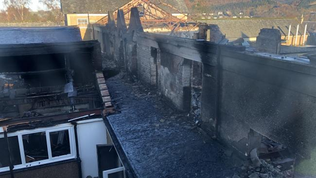 New images shared of damage at fire-hit school closed until after Christmas
