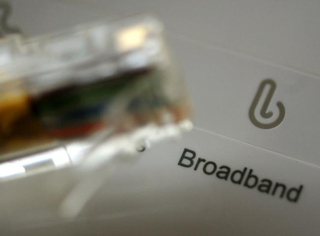 Embargoed to 0001 Monday August 20..File photo dated 15/01/14 of a broadband router and cable. Faster broadband has driven a £9 billion increase in turnover for businesses, according to new figures. PRESS ASSOCIATION Photo. Issue date: Monday