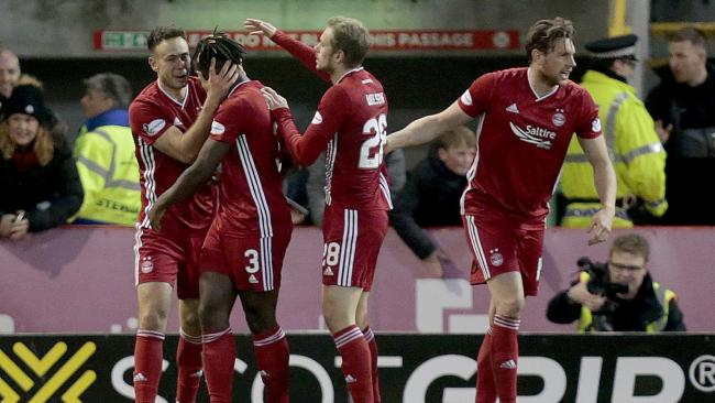 Aberdeen 2 Rangers 2:  Extended highlights as Rangers let two goal lead slip at Pittodrie